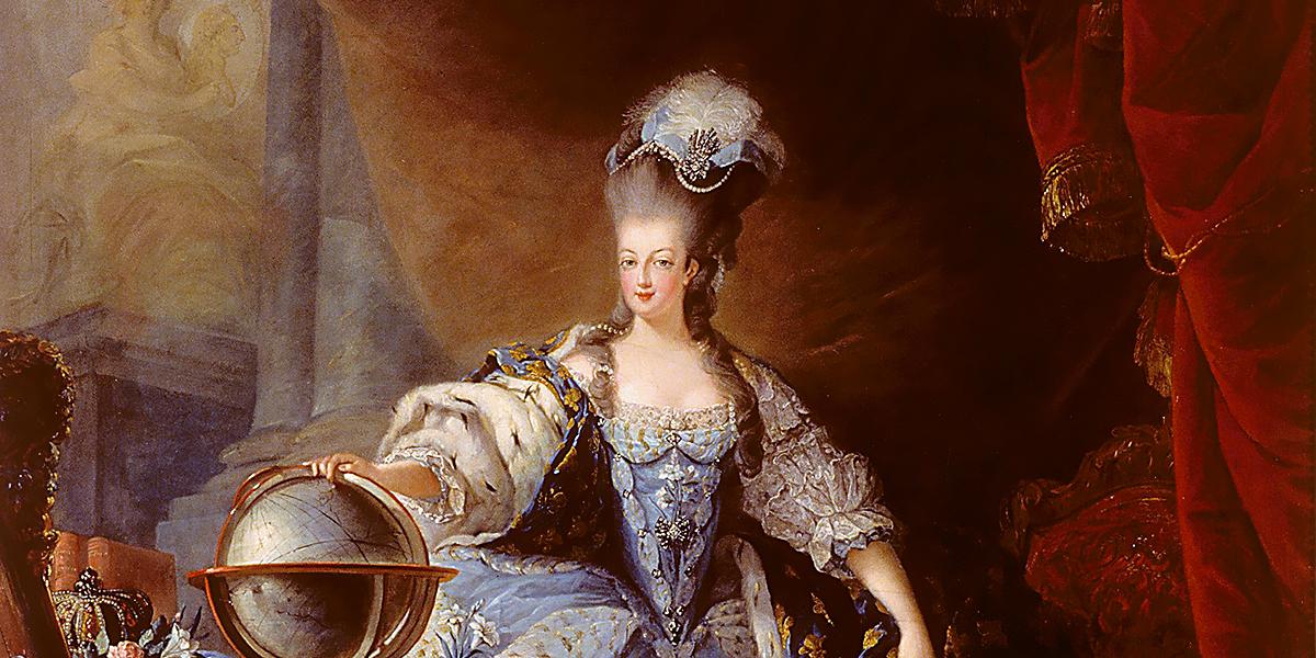 Marie Antoinette, 1775, by Jean-Baptiste Gautier Dagoty