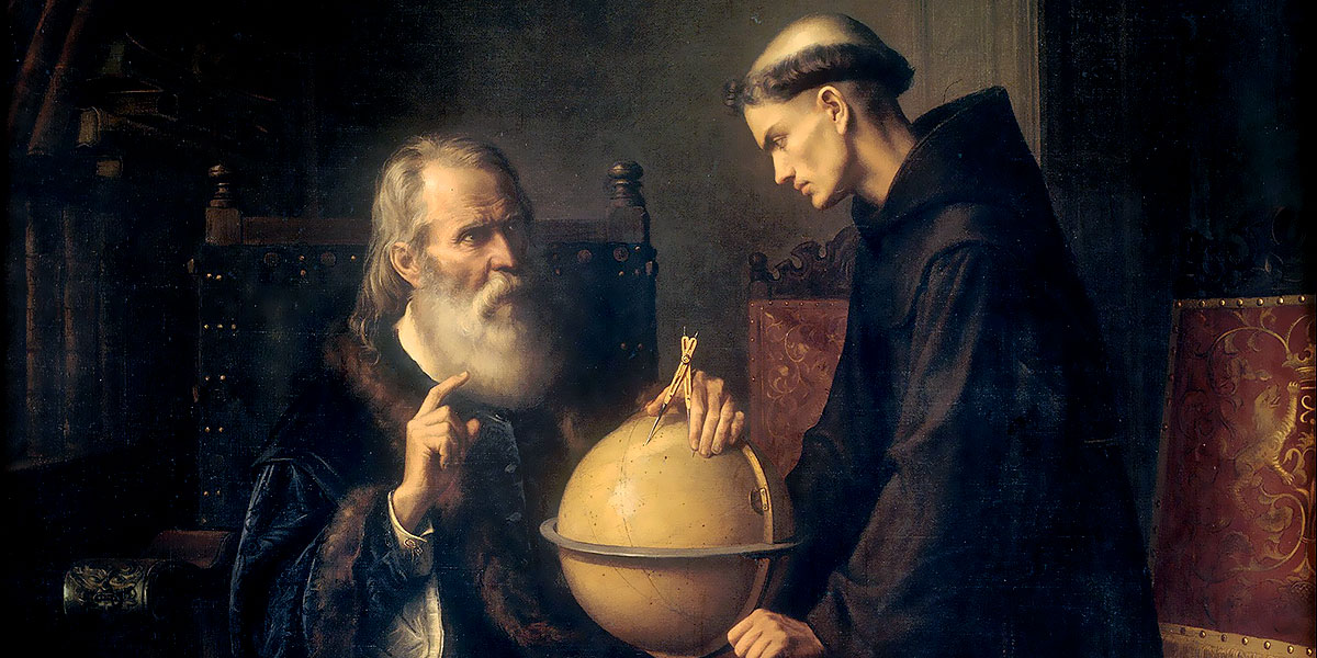 Galileo Demonstrating the New Astronomical Theories at the University of Padua. Félix Parra