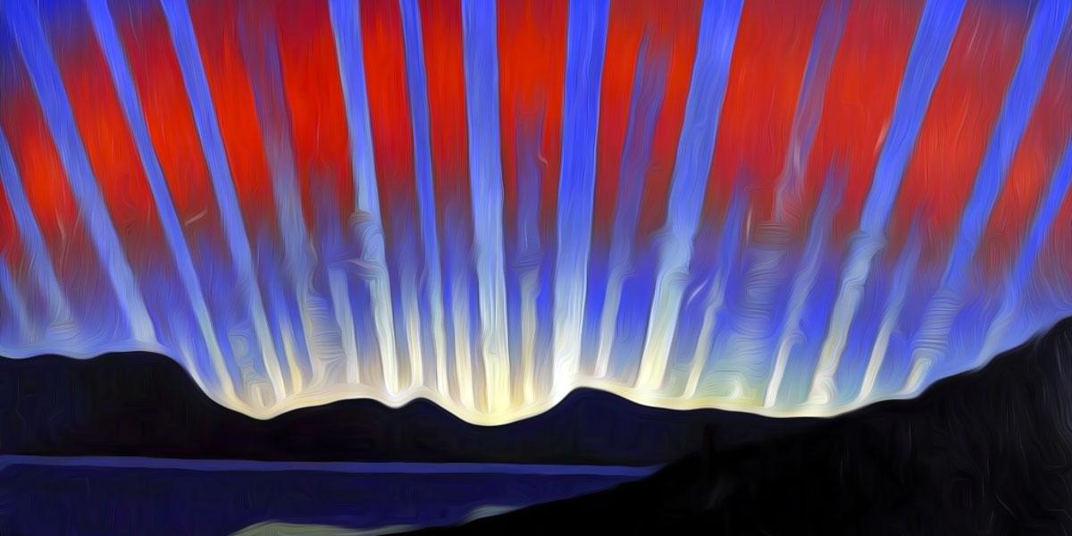 Luigi Russolo, Aurora boreale