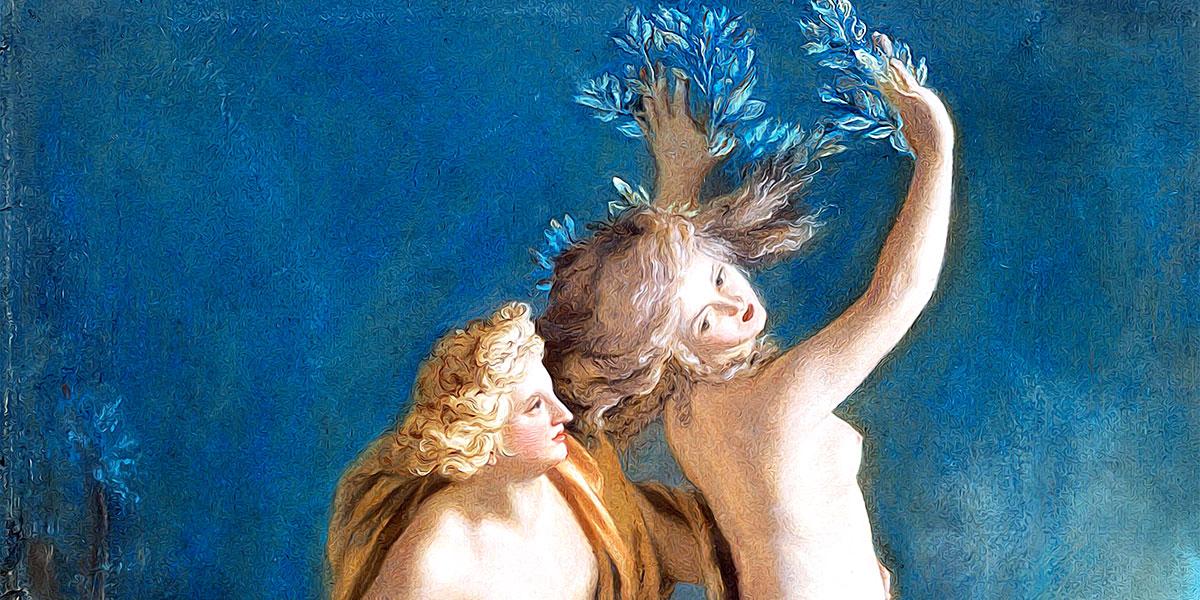Apollo and Daphne. Jean-Étienne Liotard