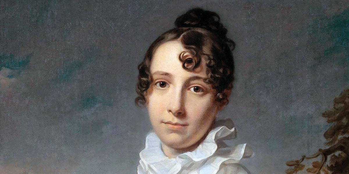 """Portrait of Emma Jane Hodges (1810)"" di Charles Howard Hodges (1764–1837)"