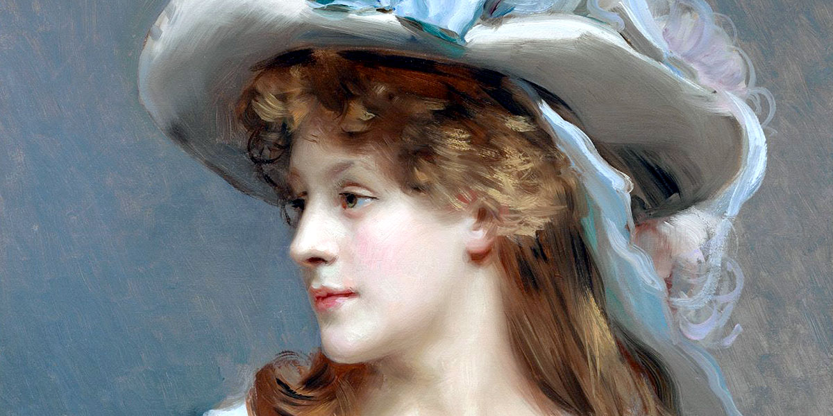Woman in White. 1880. Raimundo de Madrazo