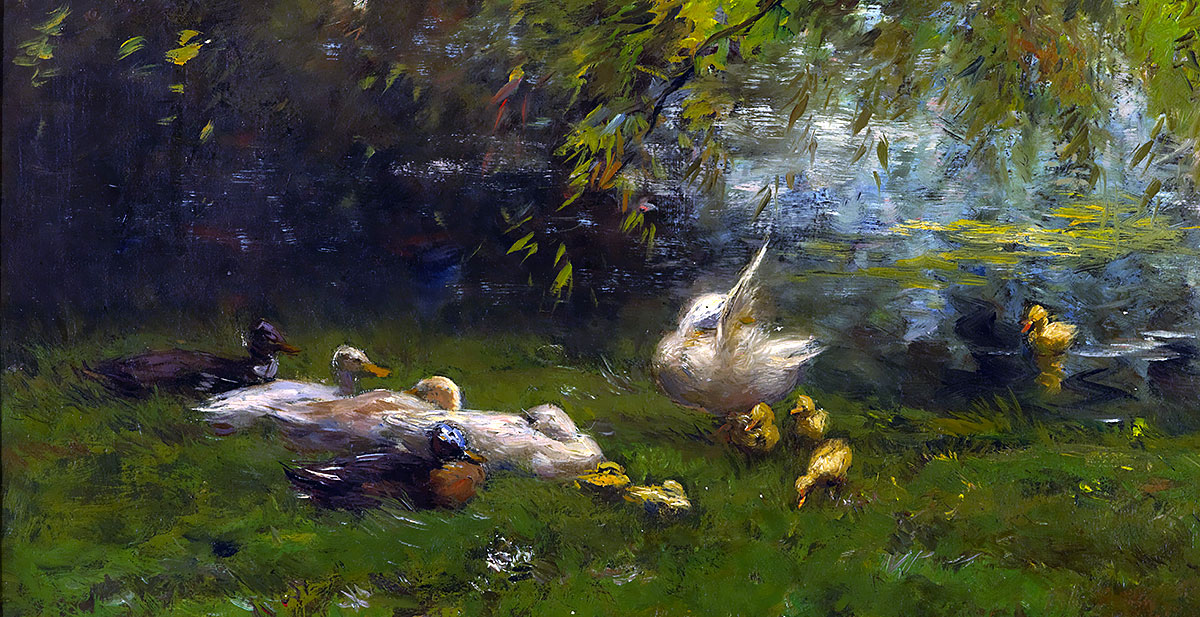 Duck heaven. Willem Maris
