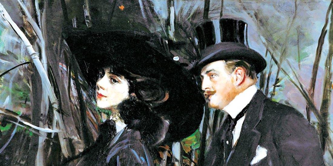 Giovanni Boldini, la passeggiata al bois de boulogne, 1909 ca.