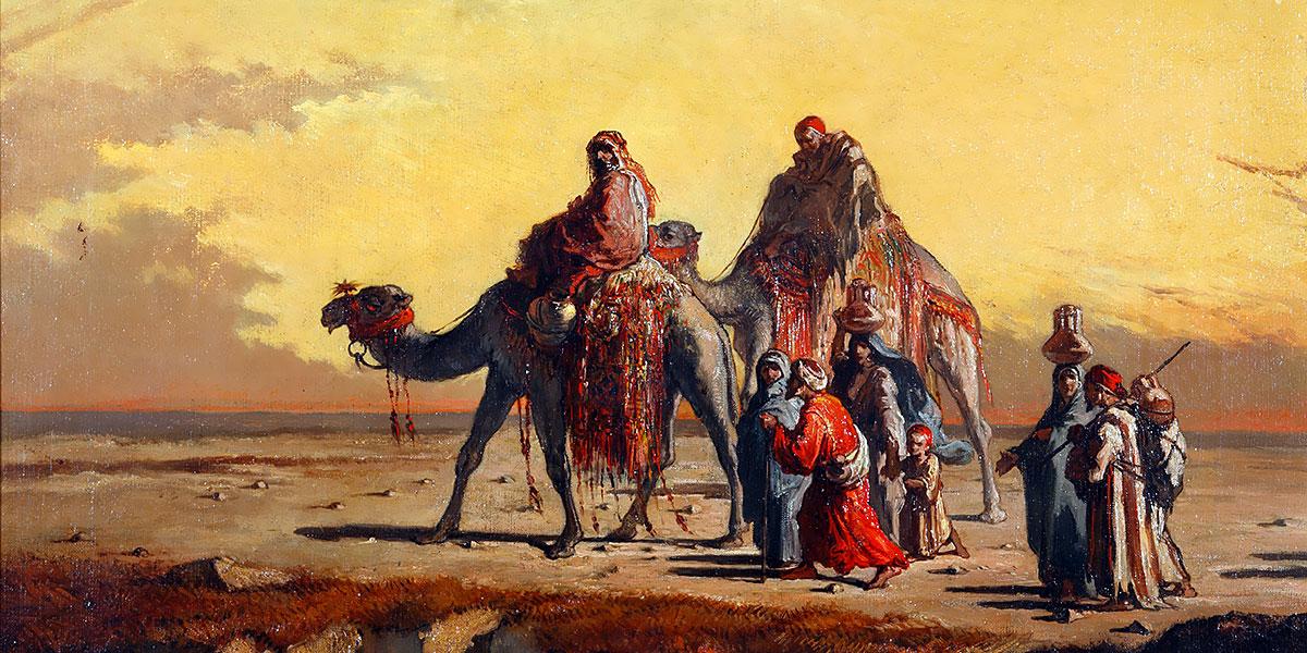 Francisco Lameyer. Desert Scene
