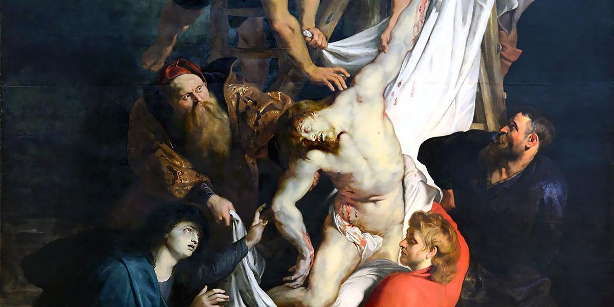 Trittico della Deposizione dalla croce di Peter Paul Rubens
