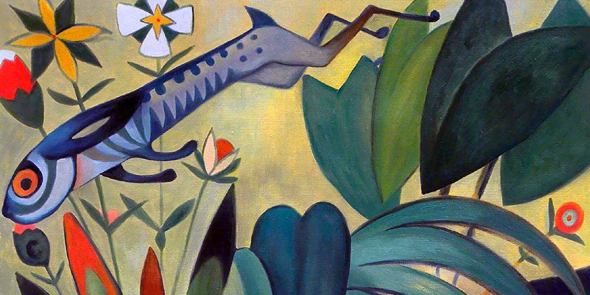 Amadeo de Souza Cardoso - The Leap of the Rabbit