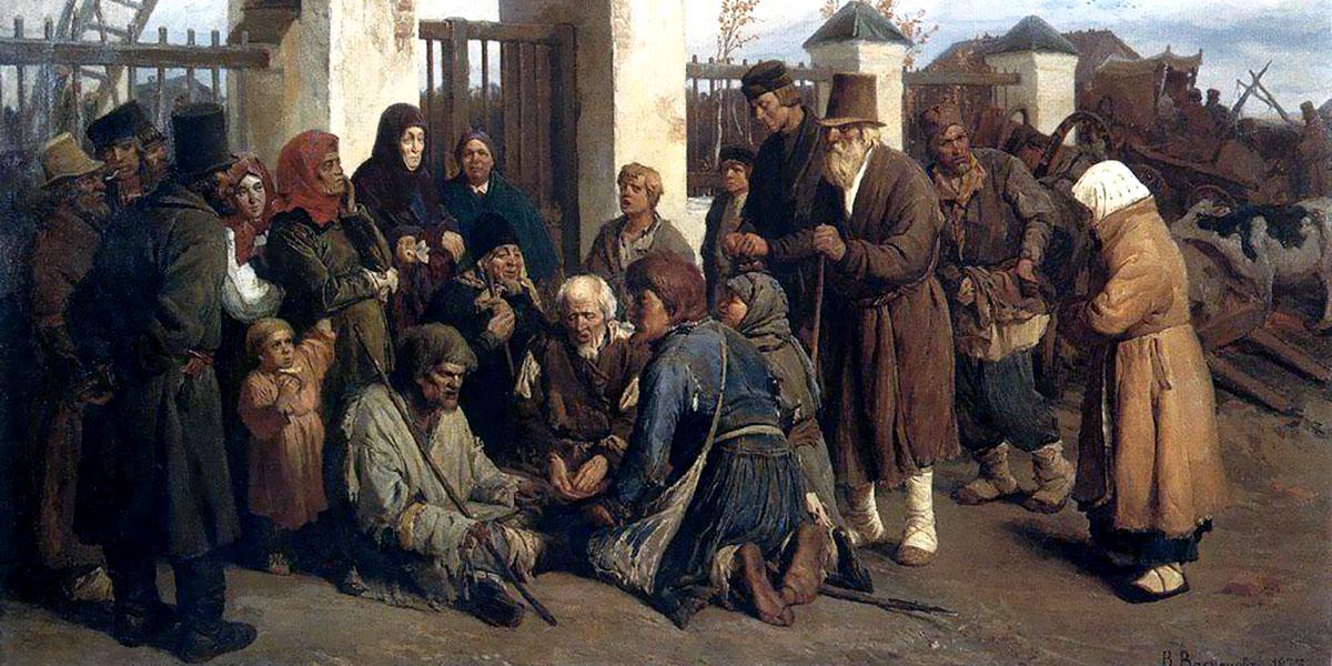 Beggars singer (Pilgrims). Viktor Vasnetsov