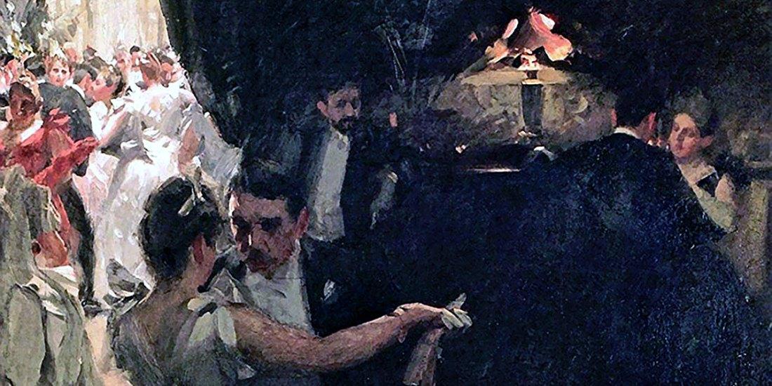 Waltz (1891). Anders Zorn