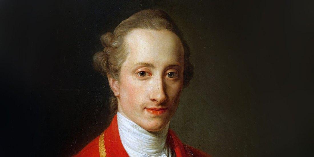 """""""Ritratto del barone François de Chambrier (1739-1781)"""" di Pompeo Batoni (1708–1787)."""