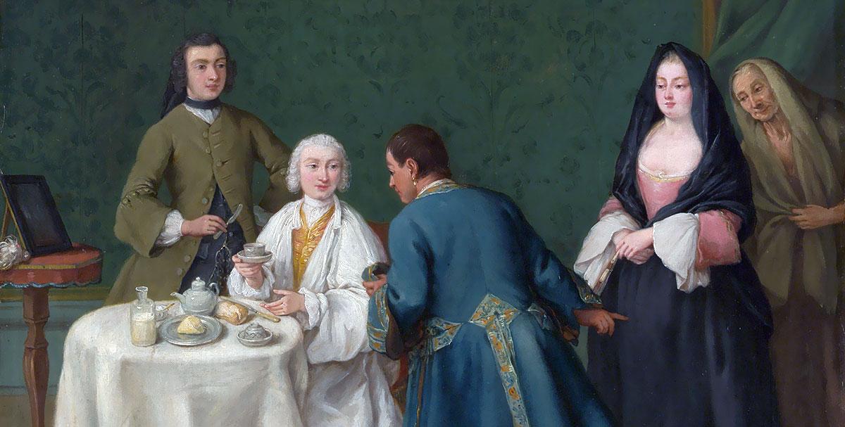 La tentazione (1746). Pietro Longhi (1701–1785)