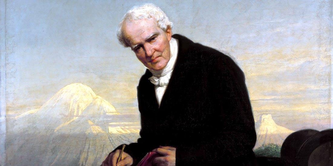 """""""Baron Alexander von Humboldt (1859)"""" di Julius Schrader (1815–1900)"""