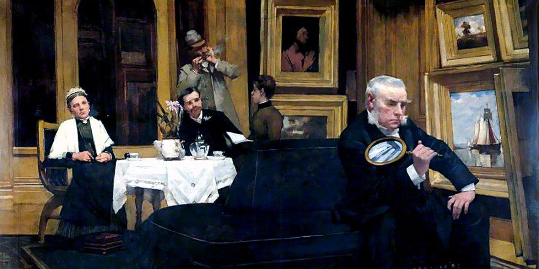 The Connoisseur. Henry Herbert La Thangue
