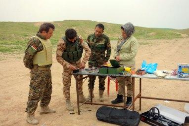 Corso di formazione su come disattivare ordigni esplosivi improvvisati (IEDs - Improvised Explosive Devices)