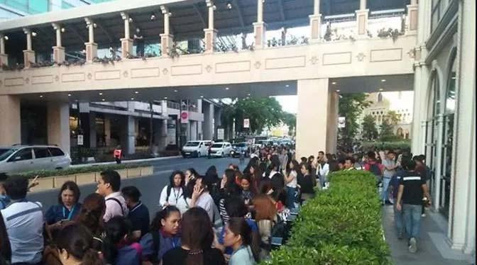 Forte scossa di terremoto nelle Filippine