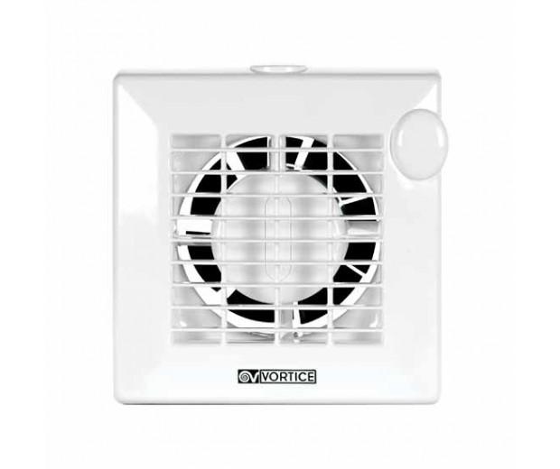 Il ventilatore integra una lampada alogena (sostituibile con una a led). Aspiratore Elicoidale Da Muro Con Timer Elettronico