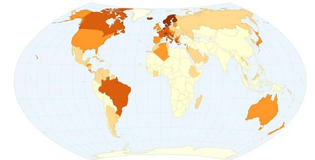 consumo de café en el mundo