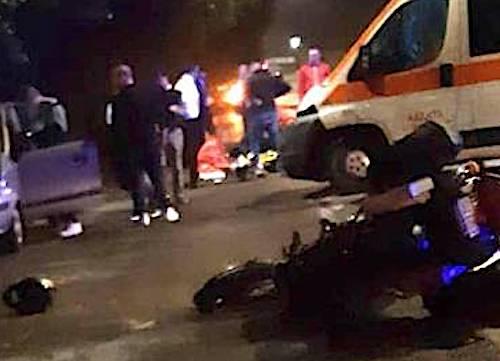 Risultati immagini per incidente a siracusa ieri CENTAURO