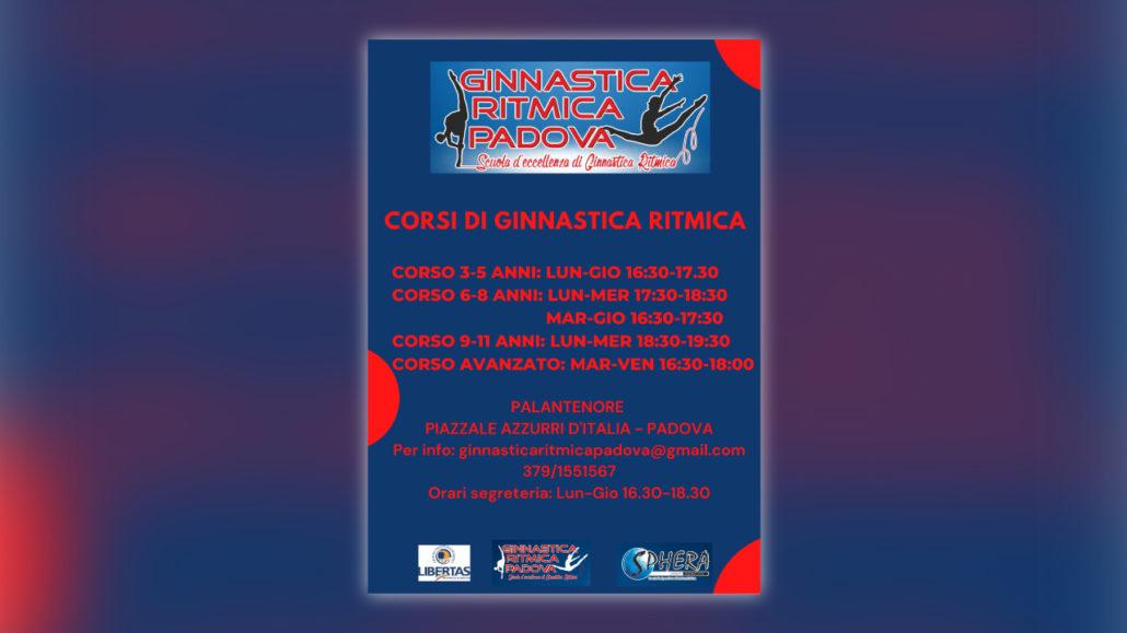 Corsi di ginnastica ritmica a Padova