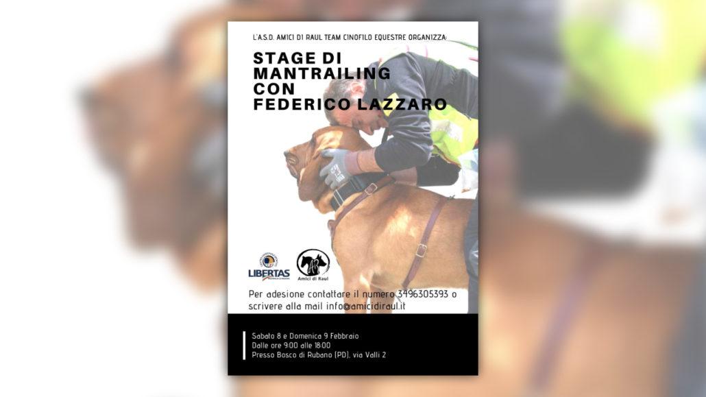 STAGE DI MANTRAILING con Federico Lazzaro
