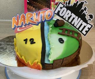 Cake design 2 décorations