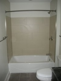 Preview of Liberties Gateway Apartment Bathroom