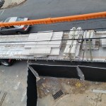 Limestone arrives on site - finally