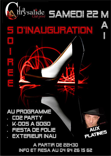 Inauguration La Chrysalide - Soirée Couple