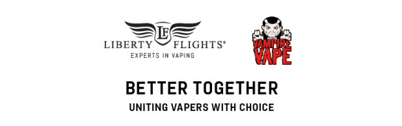 Better Together Liberty Flights & Vampire Vape