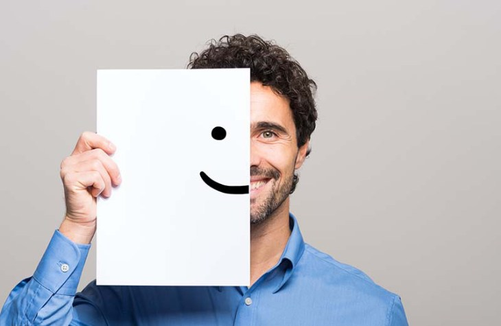 happy person