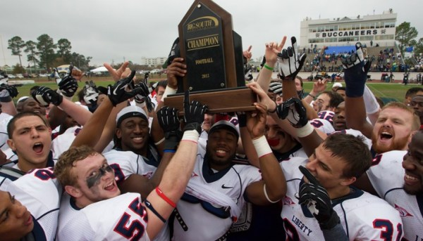 Flames Football claims sixth conference title | Liberty ...