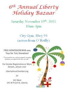 COL Holiday Bazaar