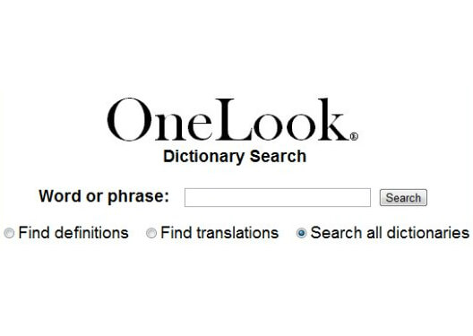 OneLook Dictionary Search