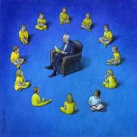 Pawel Kuczynski Political Cartoon Autodidact