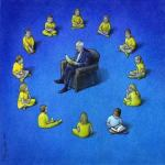 Pawel Kuczynski Political Cartoon Autodidact