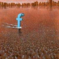 Facebook Spy Submarine