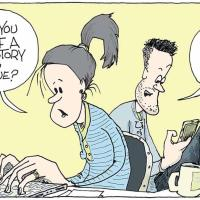 Fake News Political Cartoon Signe Wilkinson