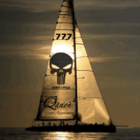 Qanon Great Awakening Punisher Sailboat 777 WWG1WGA Meme