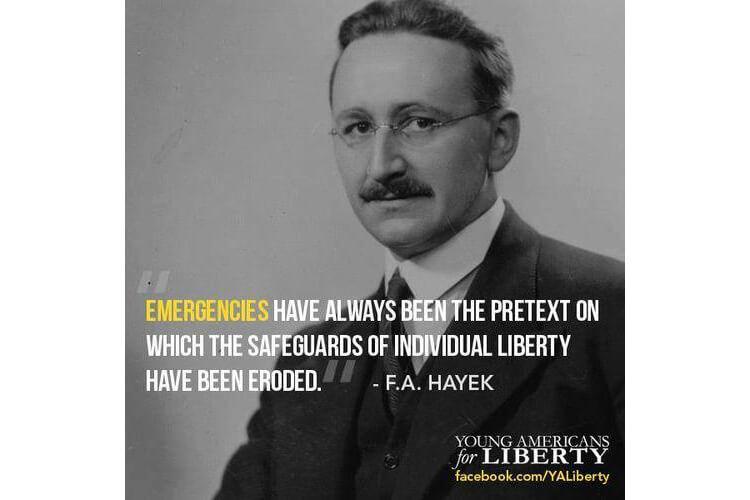 Friedrich Hayek on Individual Liberty