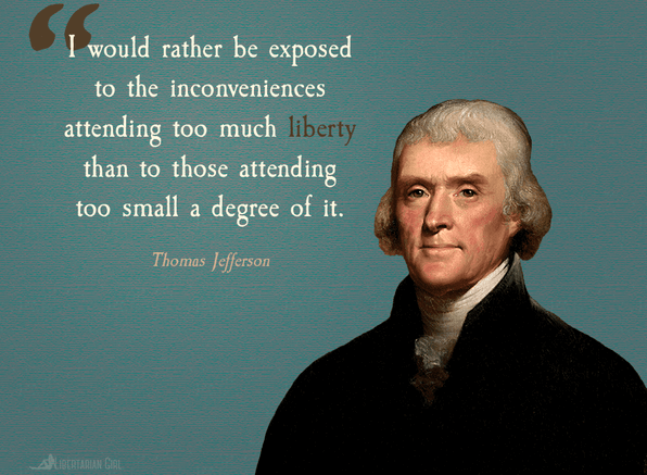 Thomas jefferson on liberty Thomas jefferson quotes