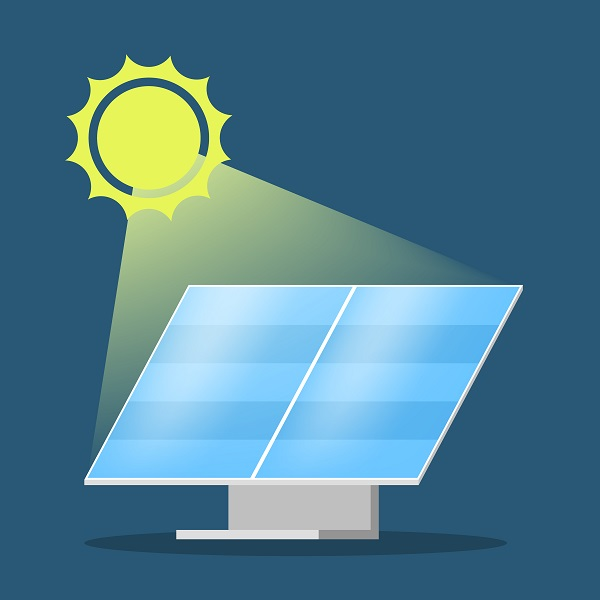 Painel fotovoltaico de geração de energia solar
