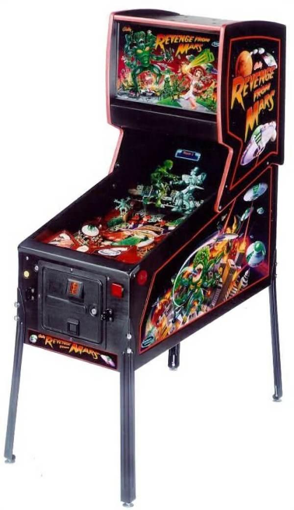Revenge From Mars Pinball Machine For Sale | Liberty Games
