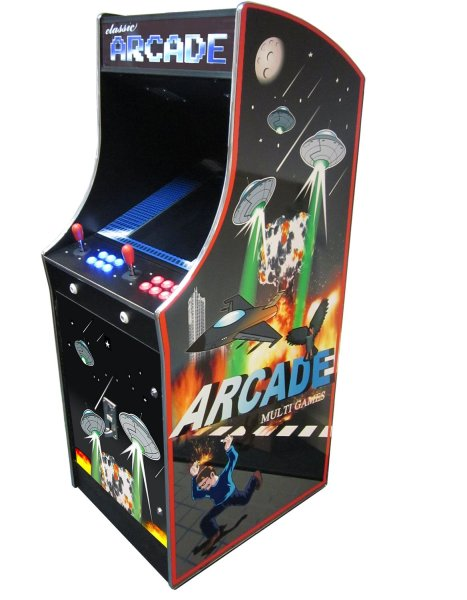 Cosmic II 412 in 1 Multi Game Arcade   Liberty Games Cosmic II 412 in 1 Multi Game Arcade Machine