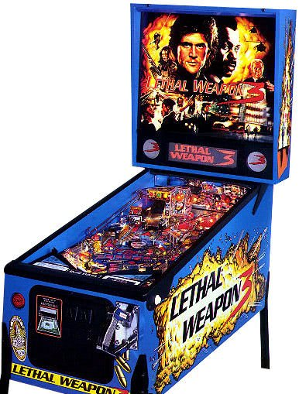 Lethal Weapon 3 Pinball Machine Liberty Games