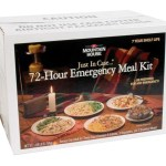 Mountain House 72 Hour Emergency Meal Kit: $59