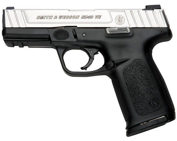 New Smith & Wesson SD40VE, .40 S&W: $359