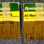 Two Boxes of Remington .41 Rem. Mag., 210Gr., 50 Rounds, Lead Semi-Wadcutter, R41MG2