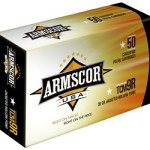 Armscor .22TCM9R, 39 Grain, Jacketed Hollow Point, 50 Round Box: $21