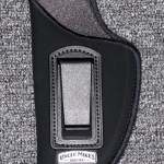 Uncle Mike's Inside-the-Pants Holster, Medium-Frame Autos 3″ to 4″ Barrels, Size 1, Left Hand, Open, Nylon, Black: $13