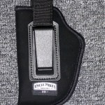Uncle Mike's Inside the Pant Holster with Retention Strap, 3″-4″ Barrel Medium Semi Autos, Left Hand, Nylon, Black: $18